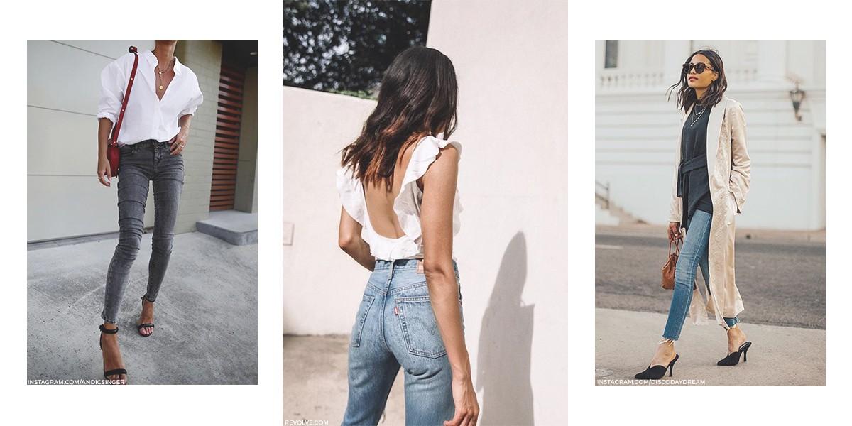 80s High-waist jeans