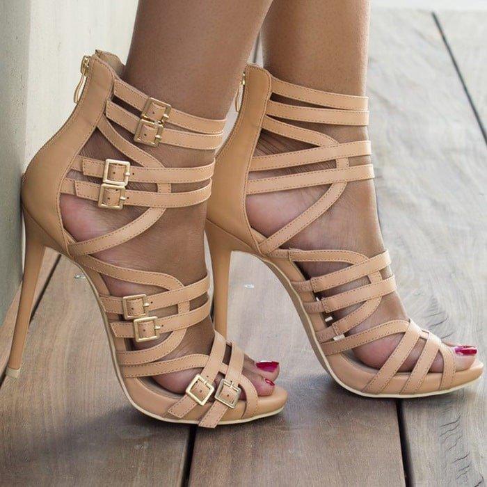 Super Strappy Heels