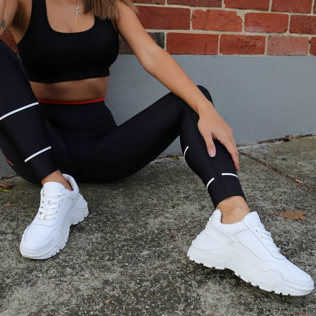 White Sneakers