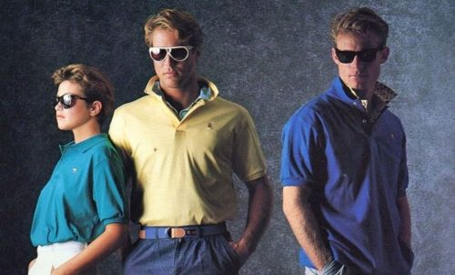 Fashionable Men of the 80s