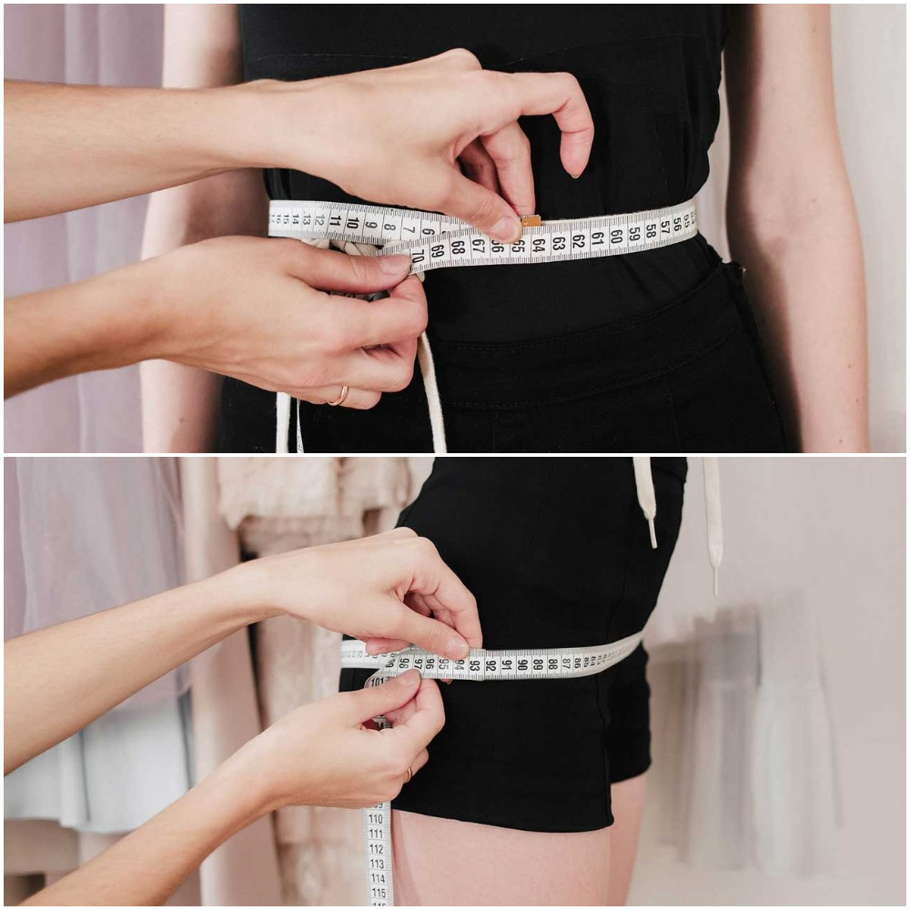 Go for waist and hips