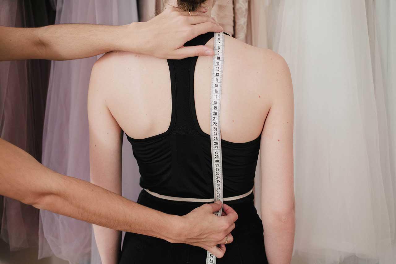 back waist length