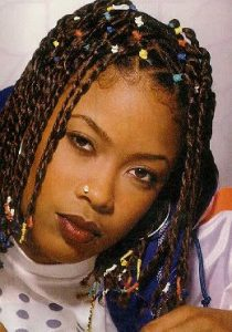 Hip Hop Hairstyle and 90s Braids