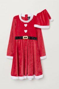 Red Santa Dress