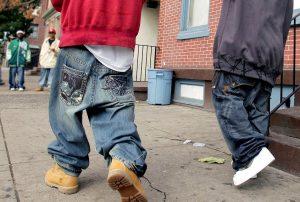 Sagging Jeans