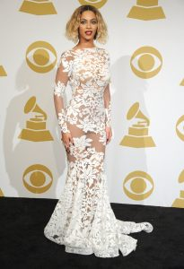 beyonce michael costello dress