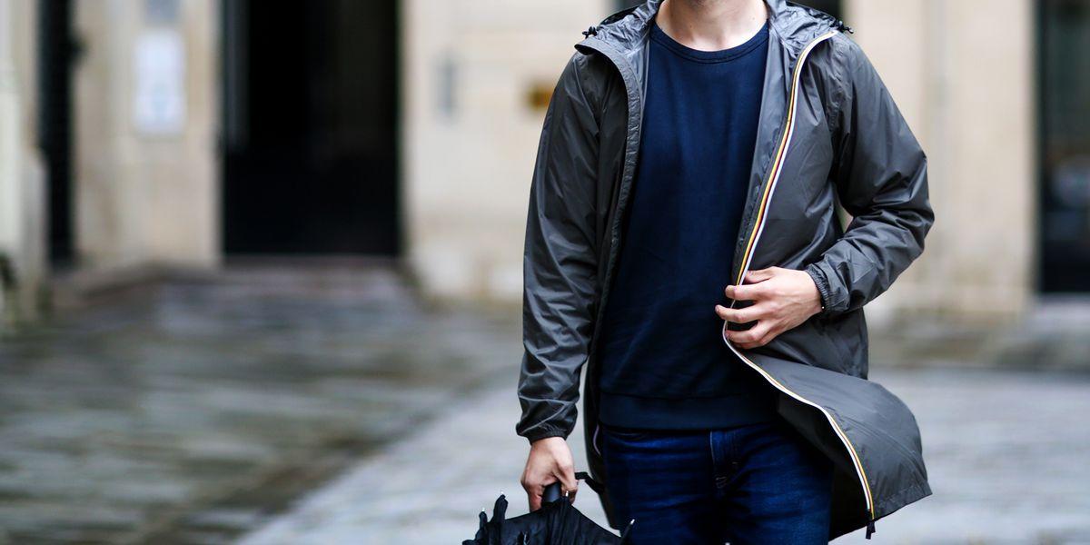 Zipped Denim Jacket by Ami