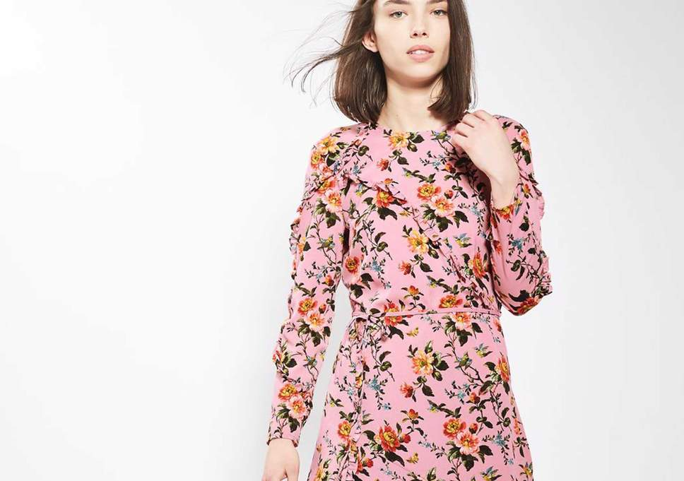 A Floral Dress