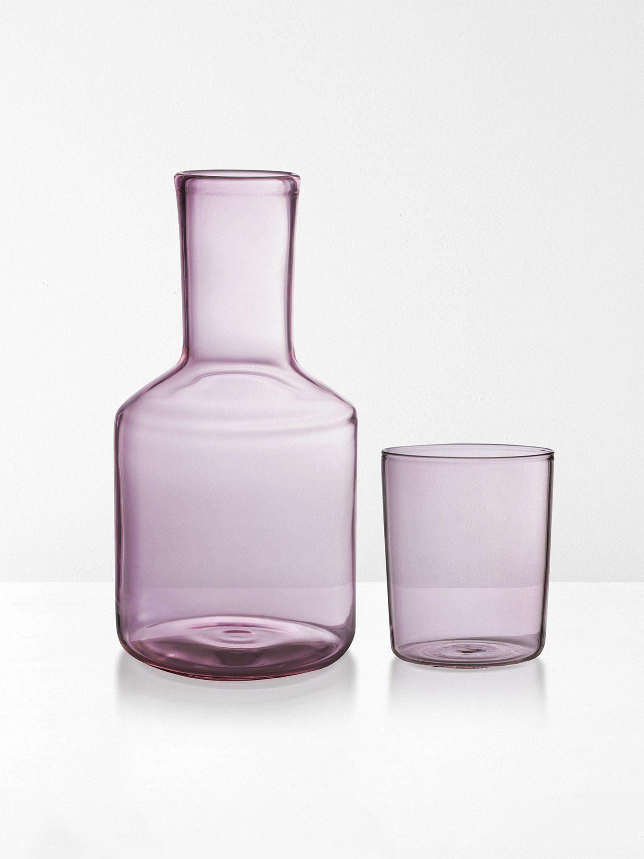 Blush Pink Carafe