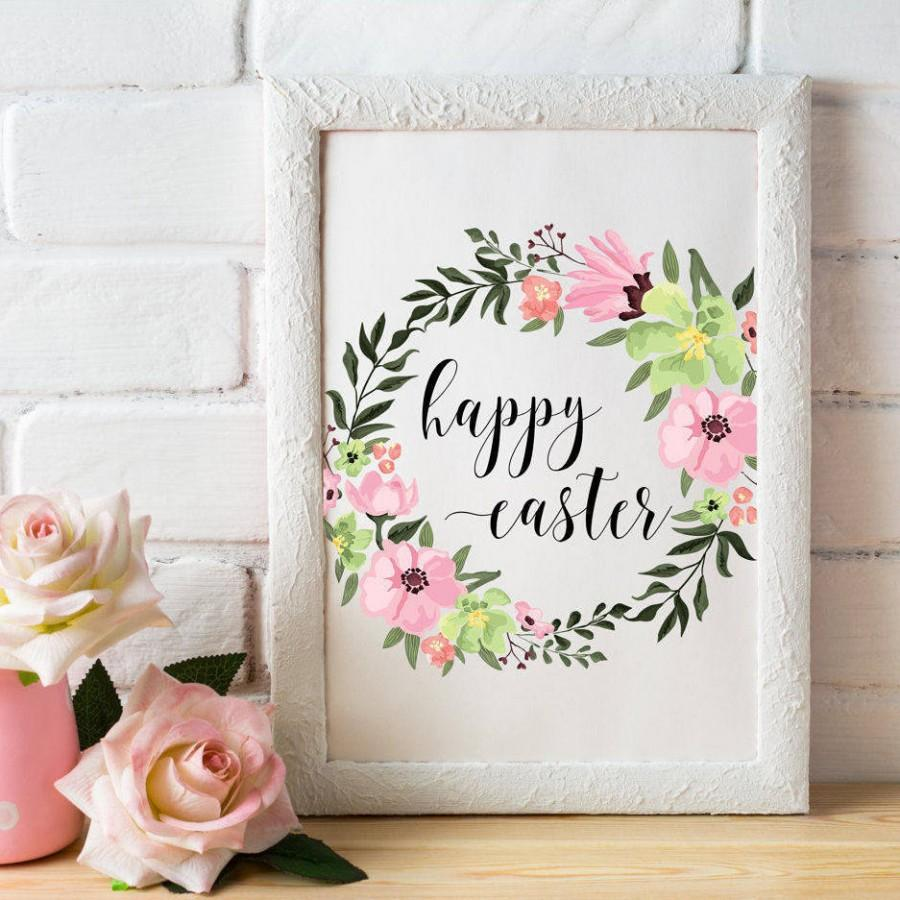 Easter Printable Wall Art