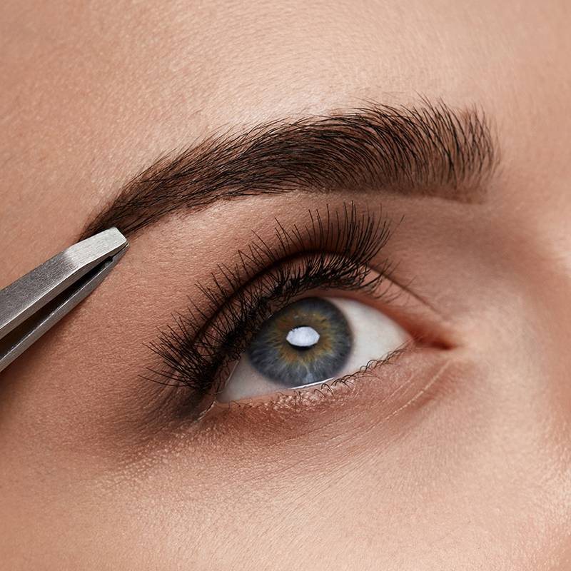Excessively Plucked Eyebrows