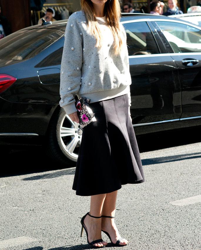 Sweater-Skirt Combo