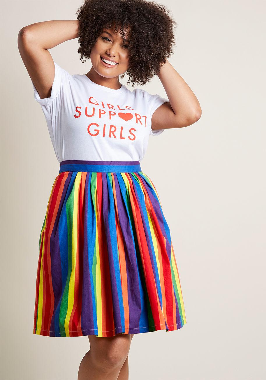 Vibrant Skirt