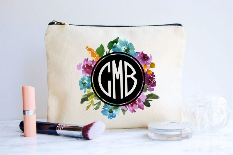 Monogram Cosmetics Bag
